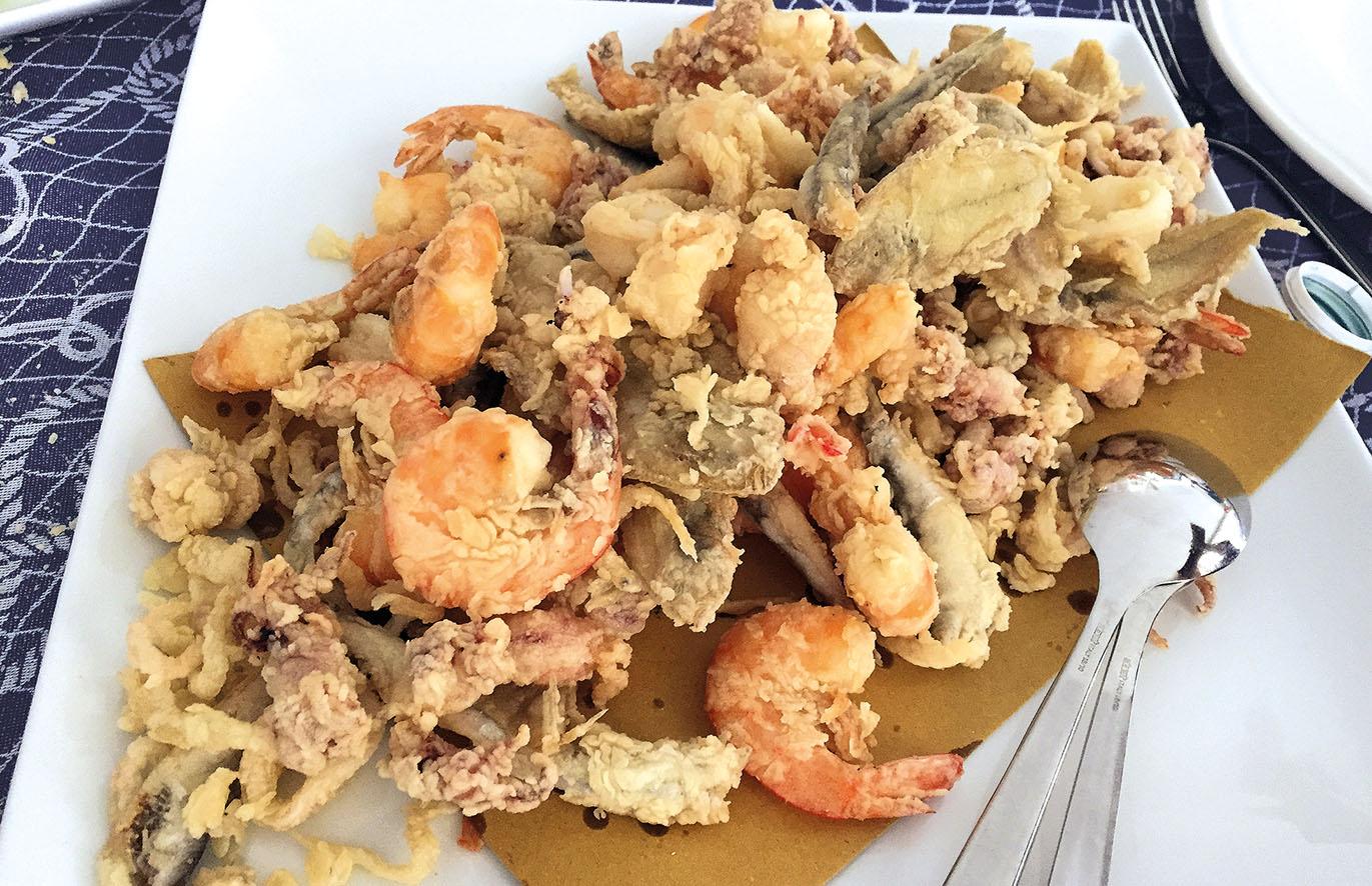 Luca vici il pesce dell 39 adriatico 17 festival della for Cucina italiana pesce
